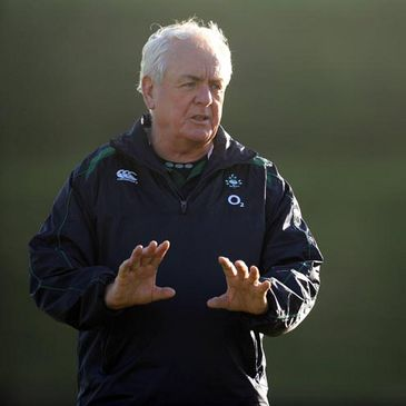 Ireland backs coach Alan Gaffney