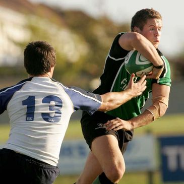 Alan Gaughan in action for the Connacht Under-20s