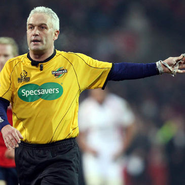 Irish referee Alan Lewis