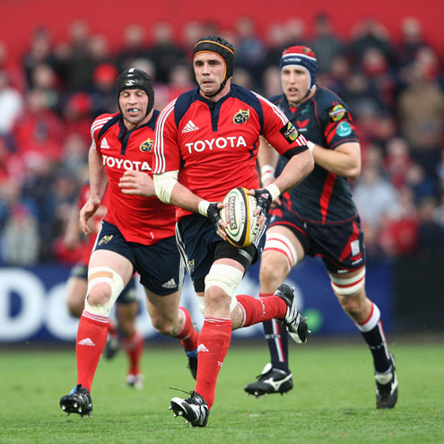 Munster 29 Scarlets 10, Musgrave Park, Friday, April 24, 2009