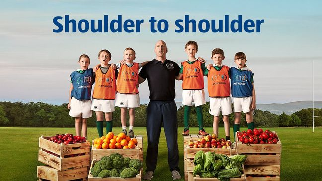 Paul O'Connell is backing 'Aldi Play Rugby'