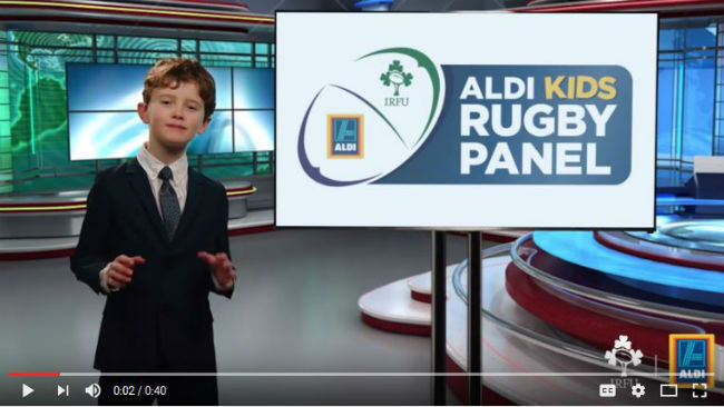 Aldi Begin Search For Child Rugby Pundits