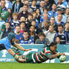 Sean O'Brien did just enough to put Alesana Tuilagi off with the big Leicester winger Alesana Tuilagi having a try ruled out early on in the second half