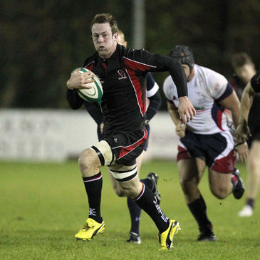 Ali Birch in action for Ulster Ravens