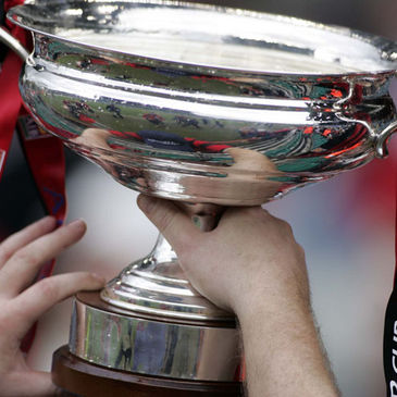 The All-Ireland Junior Cup trophy