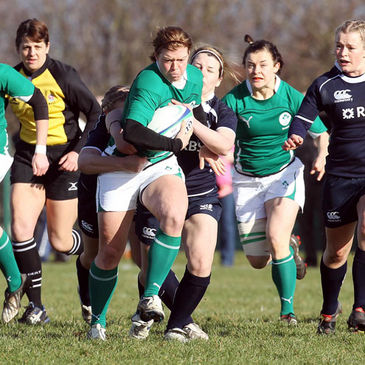 Ireland Women's international Amy Davis