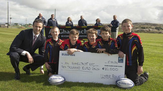 An Ghaeltacht are celebrating their Ulster Bank RugbyForce win
