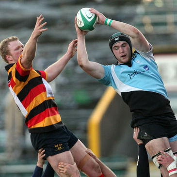 Andrew Browne in action for Galwegians