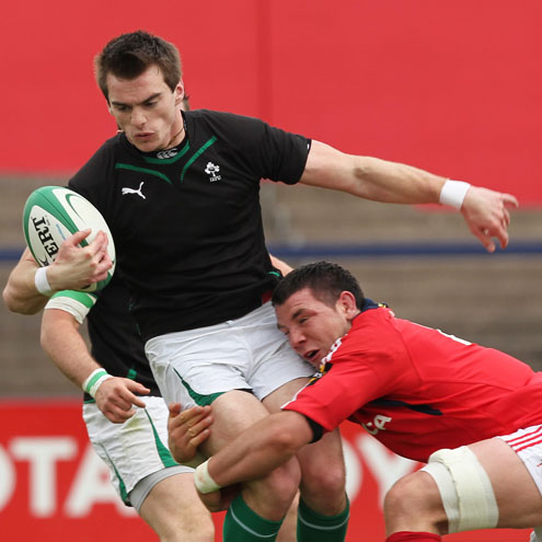 Photos of the Ireland Under-20s' match against the Munster Development side