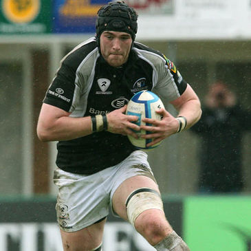 Andrew Browne in action for Connacht