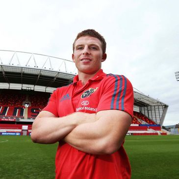 New Munster winger Andrew Conway