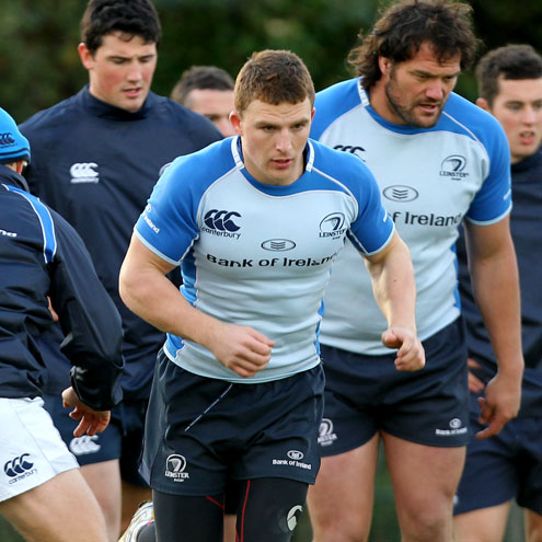 Leinster Squad Training At UCD, Monday, November 15, 2010