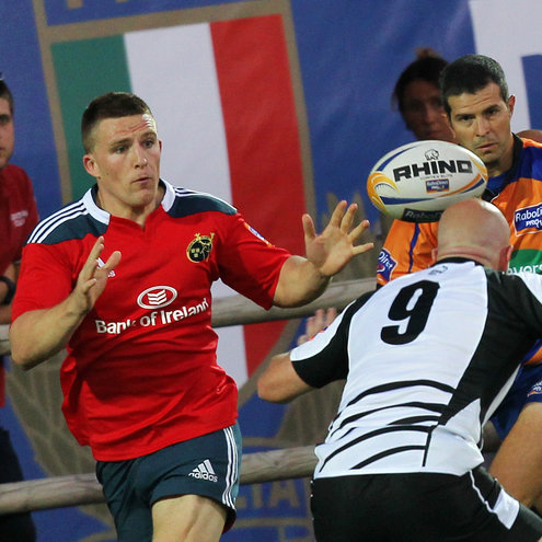 Andrew Conway in action for Munster