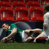 Full-back Andrew Conway helped himself to two tries during Ireland's brilliant 25-10 win over England at Kingsholm