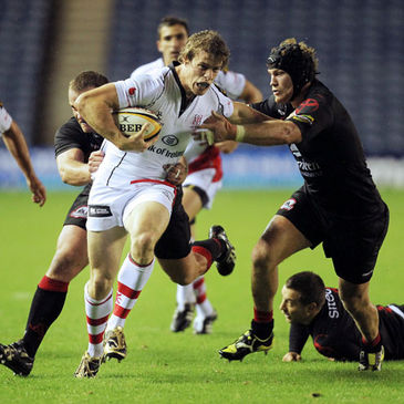 Ulster's Andrew Trimble in Magners League action