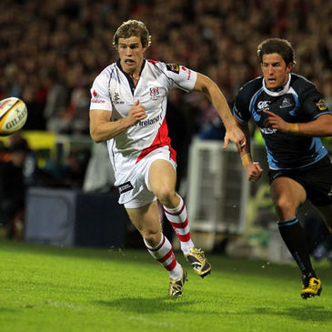 Ulster winger Andrew Trimble