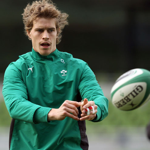 Ireland Captain's Run At The Aviva Stadium, Friday, November 12, 2010
