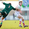 Ulster made a purposeful start at Stadio Zaffanella, with players like Andrew Trimble getting on the ball in the opening minutes
