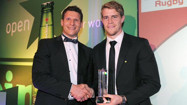 Ulster Player of the Year Andrew Trimble