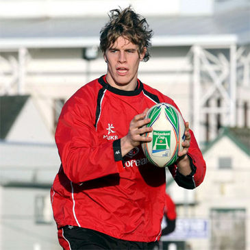 Andrew Trimble training ahead of Saturday's game