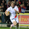 Andrew Trimble marked his return from a finger injury by scoring his 21st Magners League try