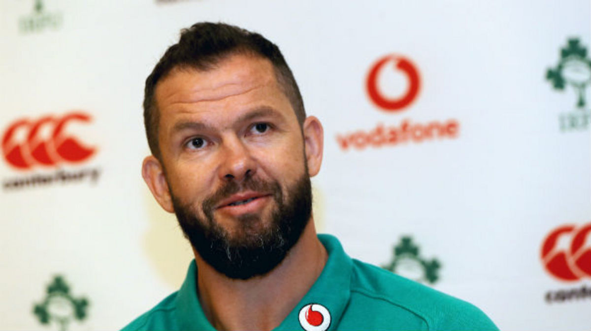 Irish Rugby TV: Browne And Nucifora On Andy Farrell