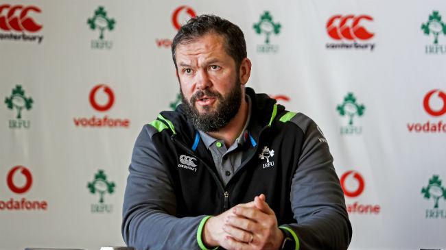 Average Is Not Acceptable - Andy Farrell On Ireland v Wales