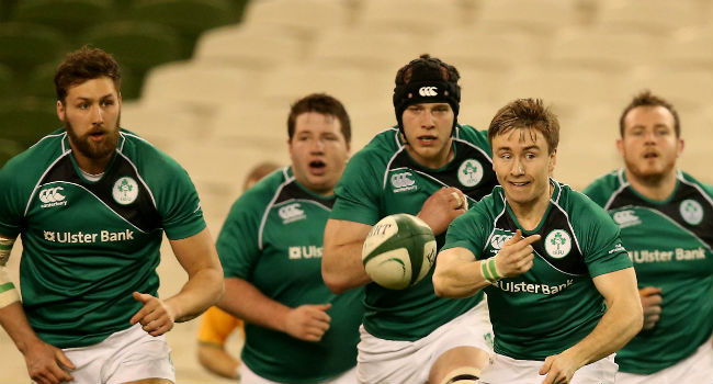 Ireland Club Squad Named For France And Scotland