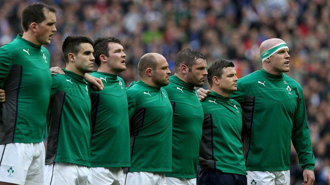Ireland defeated France to win the Six Nations title