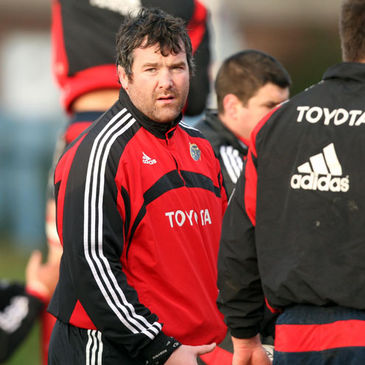 Anthony Foley's Munster side are in control of Pool B