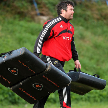Munster 'A' coach Anthony Foley