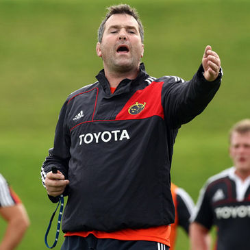 Munster's British & Irish Cup boss Anthony Foley