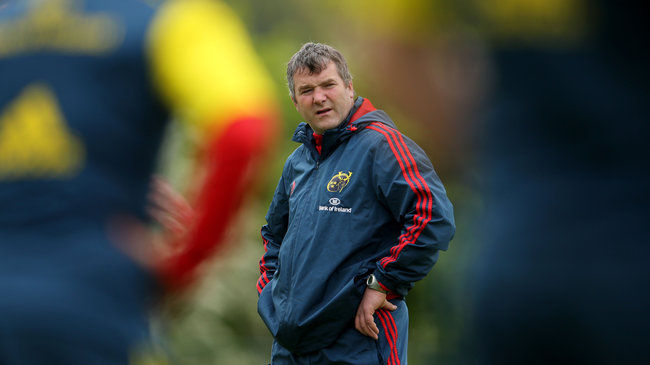 Munster's new head coach Anthony Foley