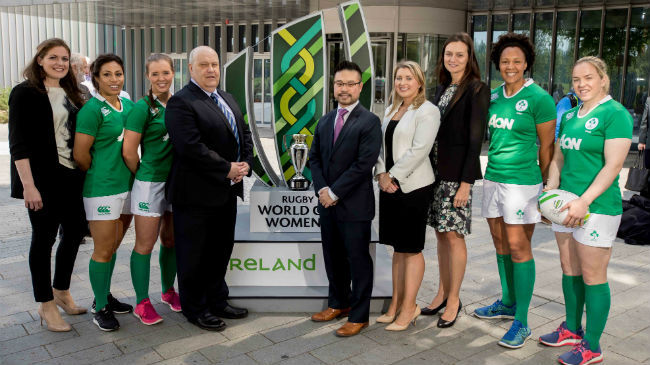Aon Inspired By Women's Team For #WRWC2017