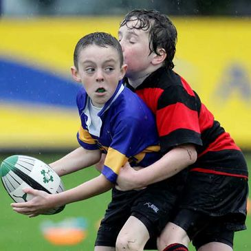 Action from the Armagh v Ballinasloe match