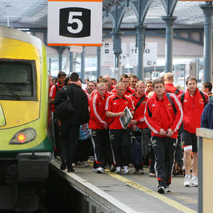 Munster's Arrival At Heuston Station, Dublin, Friday, May 1, 2009
