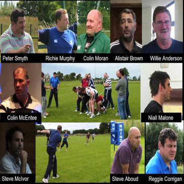 Tutors at the IRFU Coaching Course