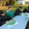 The Ireland players were treated to a traditional Maori welcome when they arrived in Rotorua on Sunday