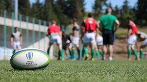 Ireland Under-20 Captain's Run Session In Tbilisi, Georgia, Monday, June 12, 2017