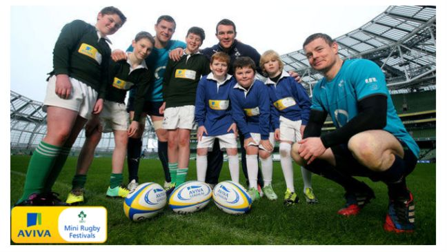 The Aviva Minis Festival launch