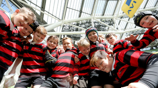 Aviva Minis To Play At Ireland v Fiji In November