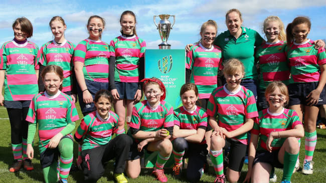 Aviva Minis Girls Returns To Carton House