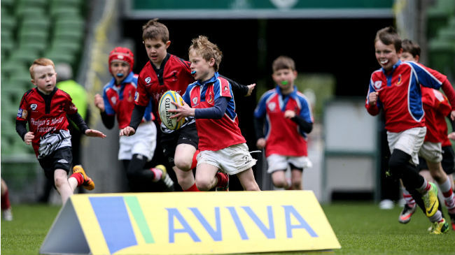 Action from the 2016 Aviva National Minis Festival