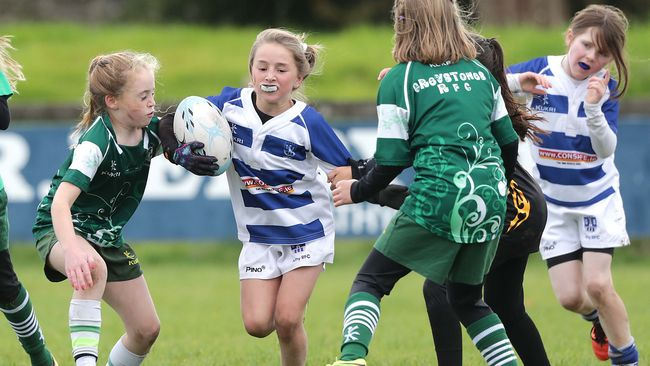 In Pics/Video: Aviva Mini Rugby Festival At Co. Carlow FC