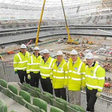 The first seats at the Aviva Stadium