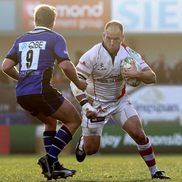 BJ Botha in action for Ulster
