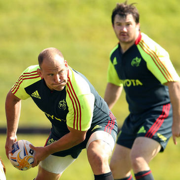 BJ Botha and Damien Varley will start against Ulster