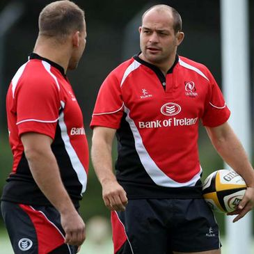 Front row duo BJ Botha and Rory Best