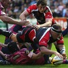 One of the high points for Ulster at the Arms Park was South African prop BJ Botha getting over for a try