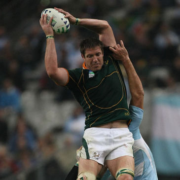 South Africa lock Bakkies Botha